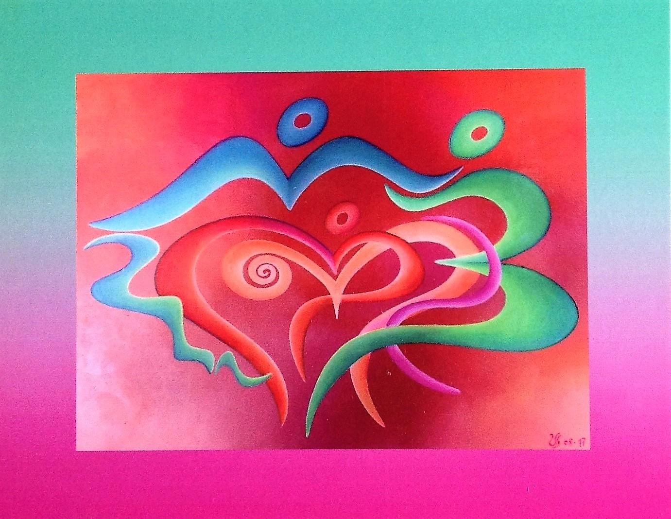 KUNSTkarten FarbenFreude